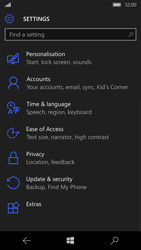 Microsoft Lumia 950 - Device maintenance - Create a backup of your data - Step 22