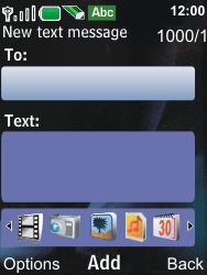 Nokia 6600i slide - MMS - Sending pictures - Step 5