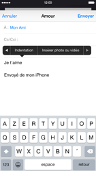 Apple iPhone 6 iOS 8 - E-mail - envoyer un e-mail - Étape 9
