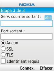 Nokia 2730 classic - E-mail - Configurer l