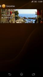 Sony Xperia E4g - Bluetooth - Transferir archivos a través de Bluetooth - Paso 6