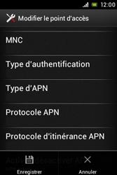 Sony ST23i Xperia Miro - Internet - configuration manuelle - Étape 17