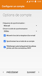 ZTE Blade V8 - E-mail - Configuration manuelle (yahoo) - Étape 11