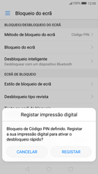 Huawei P10 - Segurança - Como ativar o código de bloqueio do ecrã -  10