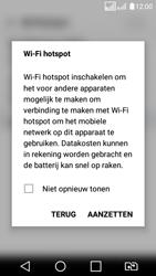 LG K4 (2017) (LG-M160) - WiFi - Mobiele hotspot instellen - Stap 10
