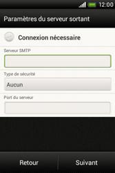 HTC A320e Desire C - E-mail - Configuration manuelle - Étape 14