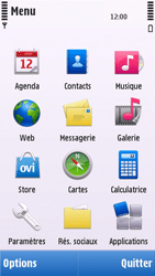 Nokia C5-03 - Internet - navigation sur Internet - Étape 2