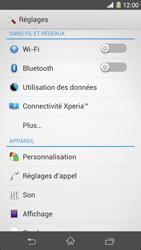Sony Xpéria Z1 - Internet et connexion - Utiliser le mode modem par USB - Étape 4