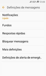 Samsung Galaxy Xcover 3 (G389) - SMS - Como configurar o centro de mensagens -  6