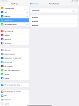 Apple ipad-pro-12-9-inch-2018-model-a1895 - Netwerk selecteren - Handmatig een netwerk selecteren - Stap 7