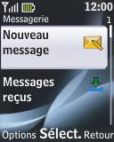 Nokia 2330 classic - E-mail - envoyer un e-mail - Étape 3