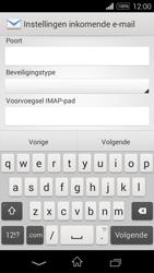 Sony Xperia E3 - E-mail - e-mail instellen: IMAP (aanbevolen) - Stap 9