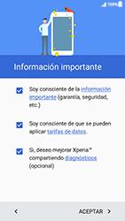 Sony Xperia XZ (F8331) - Primeros pasos - Activar el equipo - Paso 5
