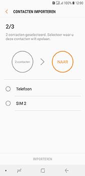 Samsung galaxy-j6-sm-j600fn-ds - Contacten en data - Contacten kopiëren van SIM naar toestel - Stap 11