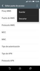 HTC One A9 - Mensajería - Configurar el equipo para mensajes multimedia - Paso 14