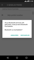 Android One GM6 - Contactgegevens overzetten - delen via Bluetooth - Stap 10