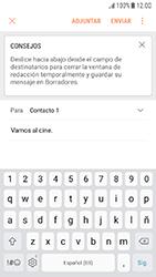 Samsung Galaxy J5 (2017) - E-mail - Escribir y enviar un correo electrónico - Paso 10