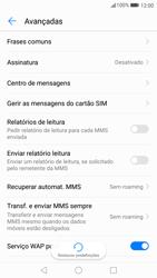 Huawei P10 - SMS - Como configurar o centro de mensagens -  9