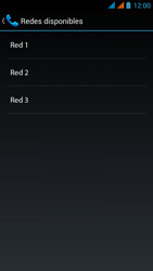 Wiko Stairway - Red - Seleccionar una red - Paso 12