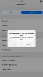 Apple iPhone 6 Plus iOS 8 - E-mail - Configurar correo electrónico - Paso 15