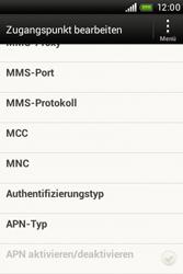 HTC Desire C - Internet - Internetverbindung - Manuelle Einstellung - Schritt 10