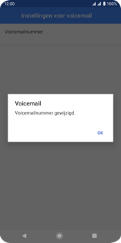 Sony xperia-xz3-dual-sim-model-h9438 - Voicemail - Handmatig instellen - Stap 12