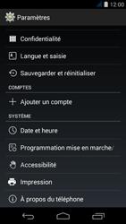 Acer Liquid Jade S - Device maintenance - Retour aux réglages usine - Étape 5