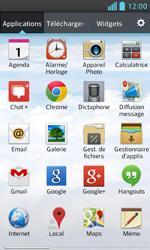 LG E460 Optimus L5 II - Internet - Navigation sur Internet - Étape 2