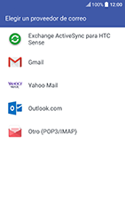 HTC 10 - E-mail - Configurar Yahoo! - Paso 5