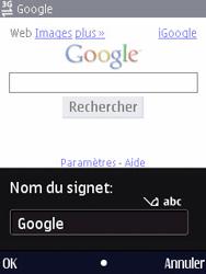 Nokia N86 - Internet - Navigation sur Internet - Étape 6
