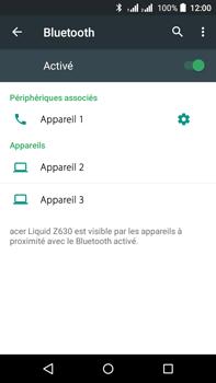 Acer Liquid Z630 - Bluetooth - connexion Bluetooth - Étape 10