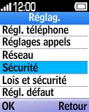 Alcatel OT-1035 - Sécuriser votre mobile - Personnaliser le code PIN de votre carte SIM - Étape 4