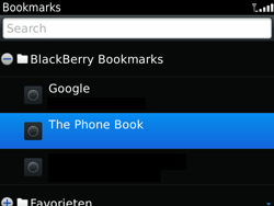 BlackBerry 9900 Bold Touch - Internet - Internet browsing - Step 9