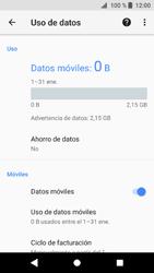 Sony Xperia XZ1 - Internet - Activar o desactivar la conexión de datos - Paso 5