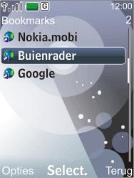 Nokia 7210 supernova - Internet - Hoe te internetten - Stap 11