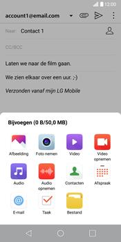 LG G6 (LG-H870) - E-mail - Hoe te versturen - Stap 12