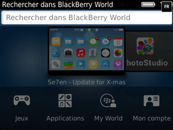 BlackBerry 9720 Bold - Applications - Télécharger des applications - Étape 5