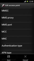 Sony ST26i Xperia J - Mms - Manual configuration - Step 14