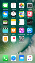 Apple iPhone 6 iOS 10 - iOS features - Control Centre - Step 1