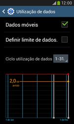 Samsung Galaxy Trend Plus - Internet no telemóvel - Como ativar os dados móveis -  6