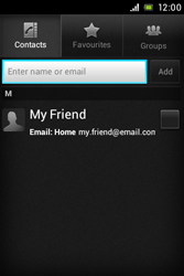 Sony C1505 Xperia E - Email - Sending an email message - Step 6