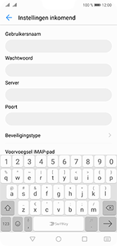 Huawei P20 Lite Dual-SIM (Model ANE-LX1) - E-mail - Instellingen KPNMail controleren - Stap 10