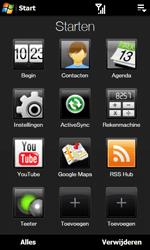 HTC T7373 Touch Pro II - E-mail - Handmatig instellen - Stap 4