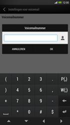 HTC One Max - Voicemail - handmatig instellen - Stap 7