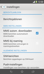 Sony D2005 Xperia E1 - MMS - probleem met ontvangen - Stap 7