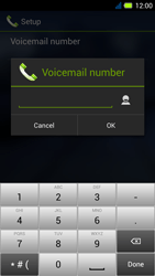 Acer Liquid E3 - Voicemail - Manual configuration - Step 9