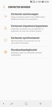 Samsung galaxy-a8-2018-sm-a530f-android-oreo - Contacten en data - Contacten kopiëren van SIM naar toestel - Stap 7