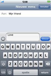 Apple iPhone 3G - MMS - afbeeldingen verzenden - Stap 6