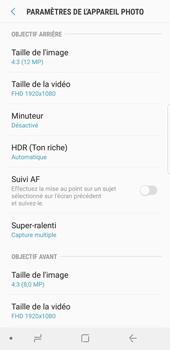Samsung Galaxy S9 - Photos, vidéos, musique - Créer une vidéo - Étape 10