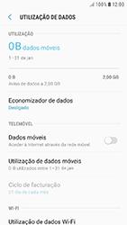 Samsung Galaxy A3 (2016) - Android Nougat - Internet no telemóvel - Como ativar os dados móveis -  6